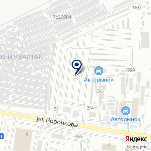 «Автомаксимум» на карте