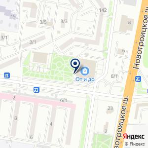 «Паук» на карте