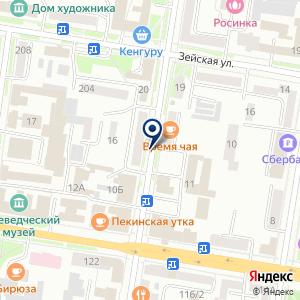 «Аура» на карте