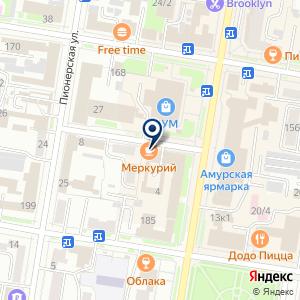 «Юстина» на карте