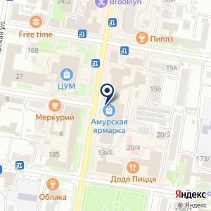 «Дуэт» на карте