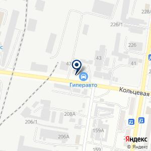 «Гиперавто» на карте