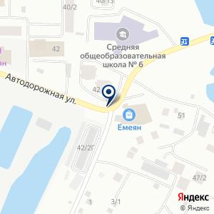 «Азбука» на карте