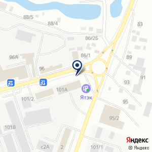 «СеверПак» на карте