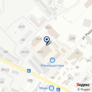 «ЛегиОН» на карте