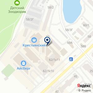 «Ганза» на карте