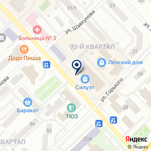 «Шик магазин женской одежды» на карте