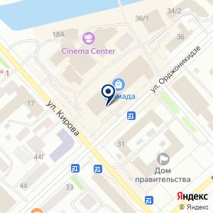 «Кокетка» на карте