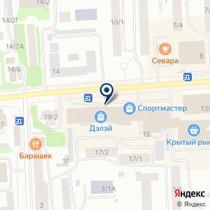 «ОБУВЬ PLAZA» на карте