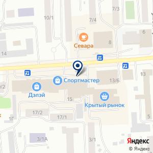 «ДиНастия» на карте
