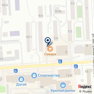 «Умелые ручки» на карте