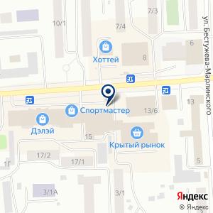 «Викинг» на карте
