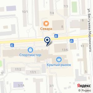 «Пышка» на карте