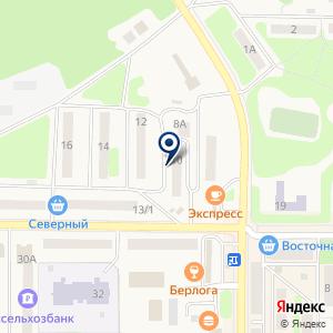 «Молокозавод Петропавловский» на карте