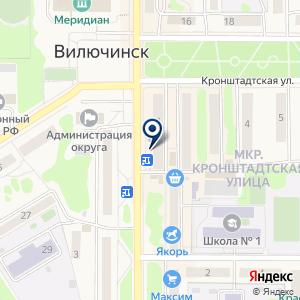«Redline» на карте