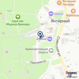 «Янтарь» на карте