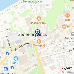 «Регина» на карте