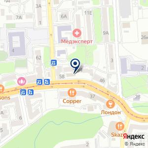 «Дамаск кафе сирийской» на карте