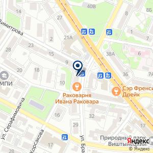 «Раковарня Ивана Раковара» на карте