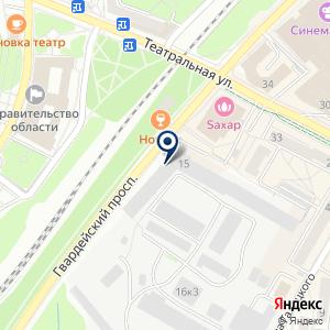 «Неостиль» на карте