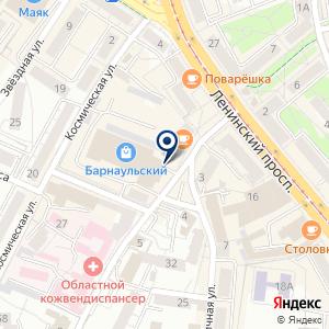 «БалтРеактив» на карте