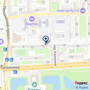 «Сохо» на карте