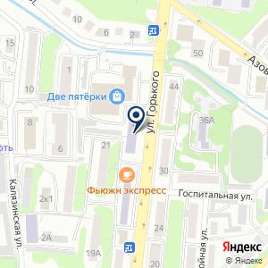 «Смета Калининград» на карте