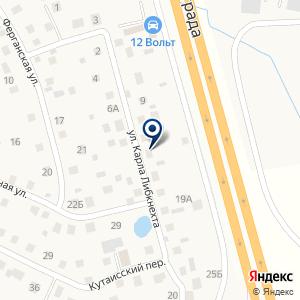 «АвтоМаг» на карте
