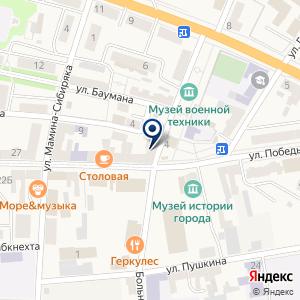 «Мебельный центр Уют» на карте