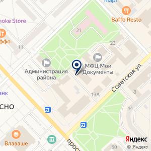 «Ателье» на карте