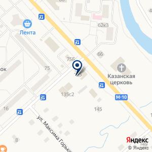«Жизель» на карте