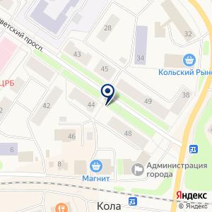 «Афоня» на карте