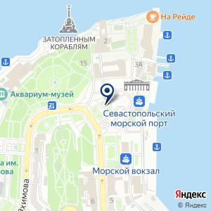 «Составление инвестиционного проекта в Севастополе» на карте