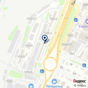 «Ликей» на карте