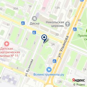 «Новый адрес» на карте