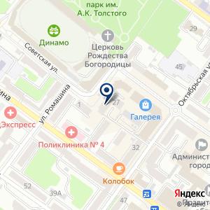 «Смета» на карте