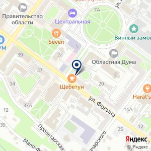 «Старый Брянск» на карте