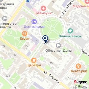 «Отдел надзорной деятельности по г. Брянску» на карте