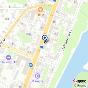 «Союз-М» на карте
