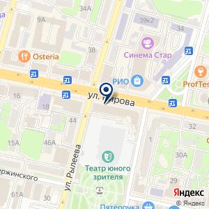 «Поехали» на карте