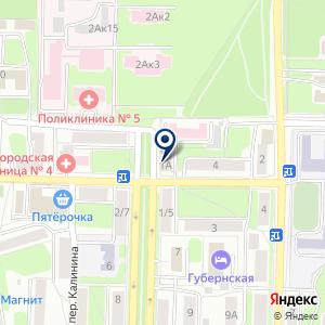 «Управление Федеральной службы по надзору в сфере защиты прав потребителей и благополучия человека по Калужской области» на карте