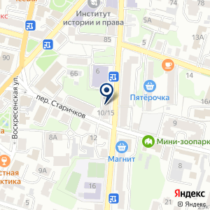 "«КПК ""Центральная сберкасса"" в Калуге.» на карте"