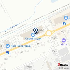 «ДОРС» на карте