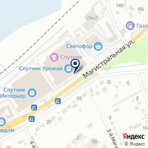 «Спутник Экспо» на карте