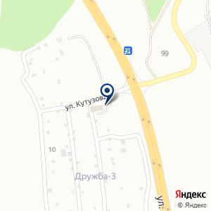 «МастаК» на карте