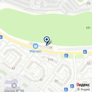 «Автодром» на карте