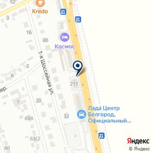 «Сантехкомплект-Белгород» на карте