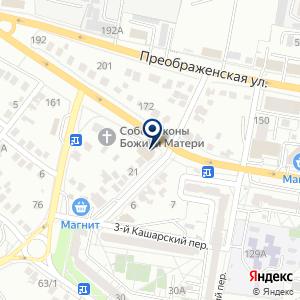 «Гудвин» на карте