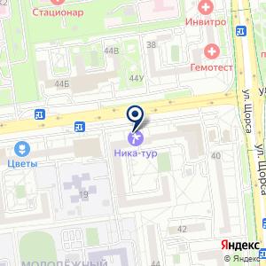 «Магазин швейной фурнитуры» на карте