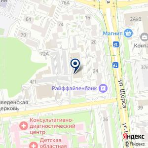 «Мираж» на карте